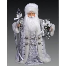 Дед Мороз с посохом, 40 см