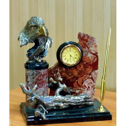 Часы «Орел с корягой»