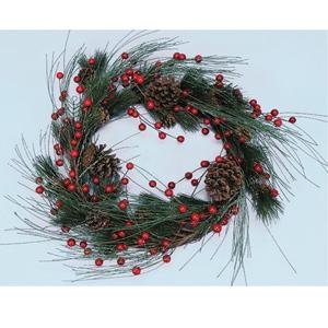 Новогоднее украшение «Венок»