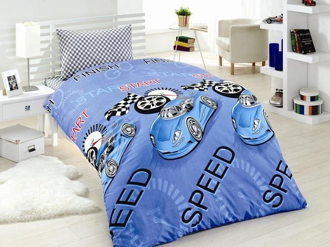 Детское постельное белье Delmar (голубое)