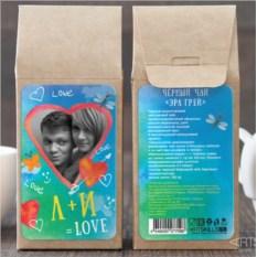 Чёрный чай Формула любви