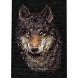 Набор для вышивания «Волк»