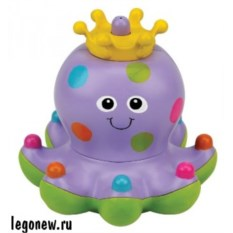 Игрушка для купания Осьминожка Клёпа