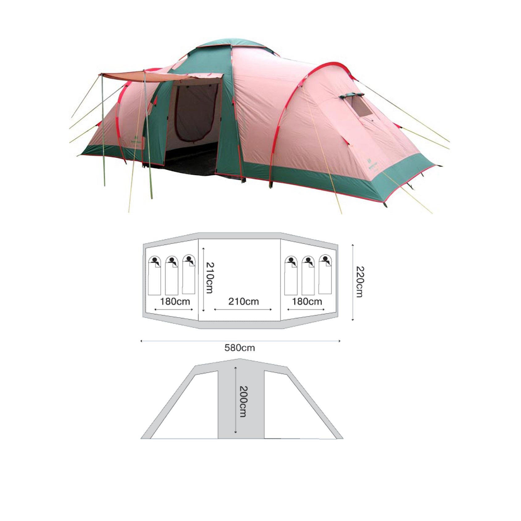 Палатка Nordway Vis A Vis 6
