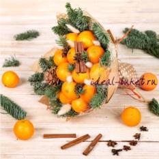 Букет из фруктов Мандариновый рай