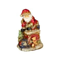 Фигурка со светодиодами Дед мороз