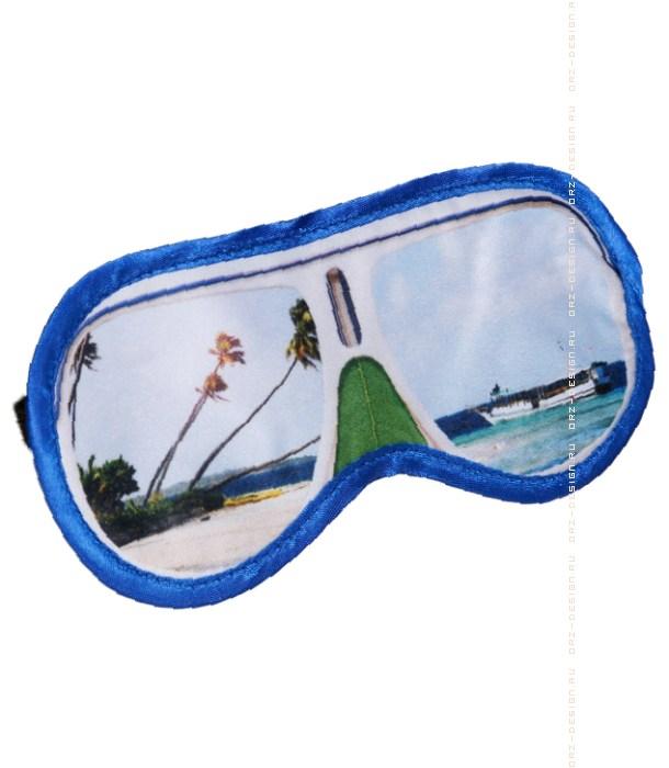 Маска для сна Солнечные очки