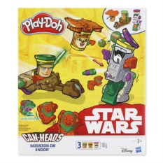 Игровой набор пластилина Play-Doh Star Wars «Миссия Эндора»