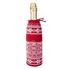 Чехол для шампанского «Скандик» (цвет — красный)