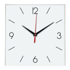 Настенные квадратные часы с длинными разделениями