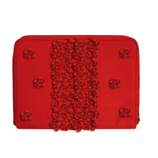 Чехол для ноутбука «Миллион аллых роз»