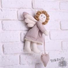 Декоративная игрушка ручной работы Ангел-хранитель
