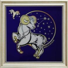 Картина Звездный Овен (с кристаллами Сваровски)