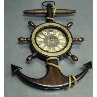 Часы кварцевые настенные «Якорь»