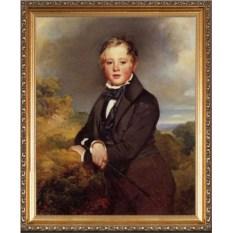 Интересный портрет сыну
