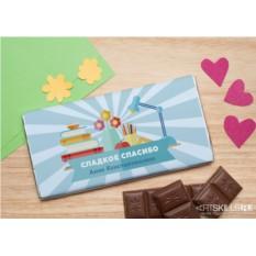 Шоколадная открытка «Вкусная шпаргалка»