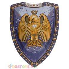 Детский синий щит с коронованным орлом