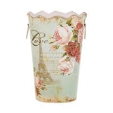 Металлическая ваза Из Парижа с любовью
