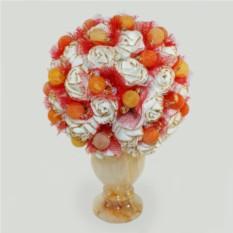 Цветы из агата Букет счастья