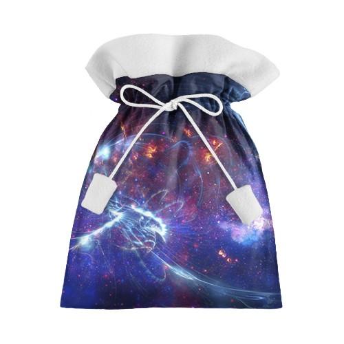 Новогодний 3D мешок Космос