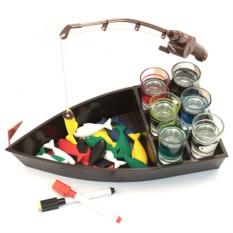 Пьяная игра Рыбалка со стопками