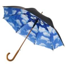 Зонт-трость Небо с облаками