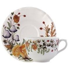 Большая чайная пара Gien Грибы
