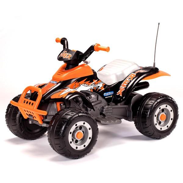 Детский оранжевый электромобиль Corral T-Rex от Peg-Perego