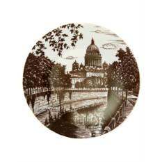 Декоративная тарелка Мойка, Императорский фарфоровый завод