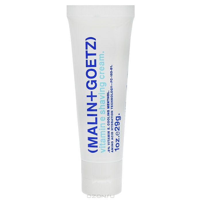 Крем для бритья Malin+Goetz, с витамином Е, 29 г