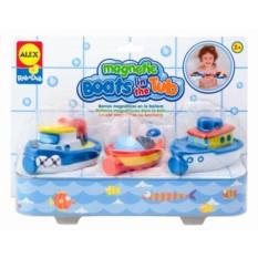 Игрушки для ванны Магнитные лодки