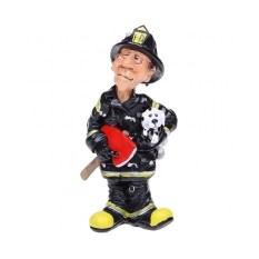 Фигурка из полистоуна «Пожарный»