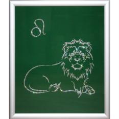 Картина из кристаллов Swarovski Лев