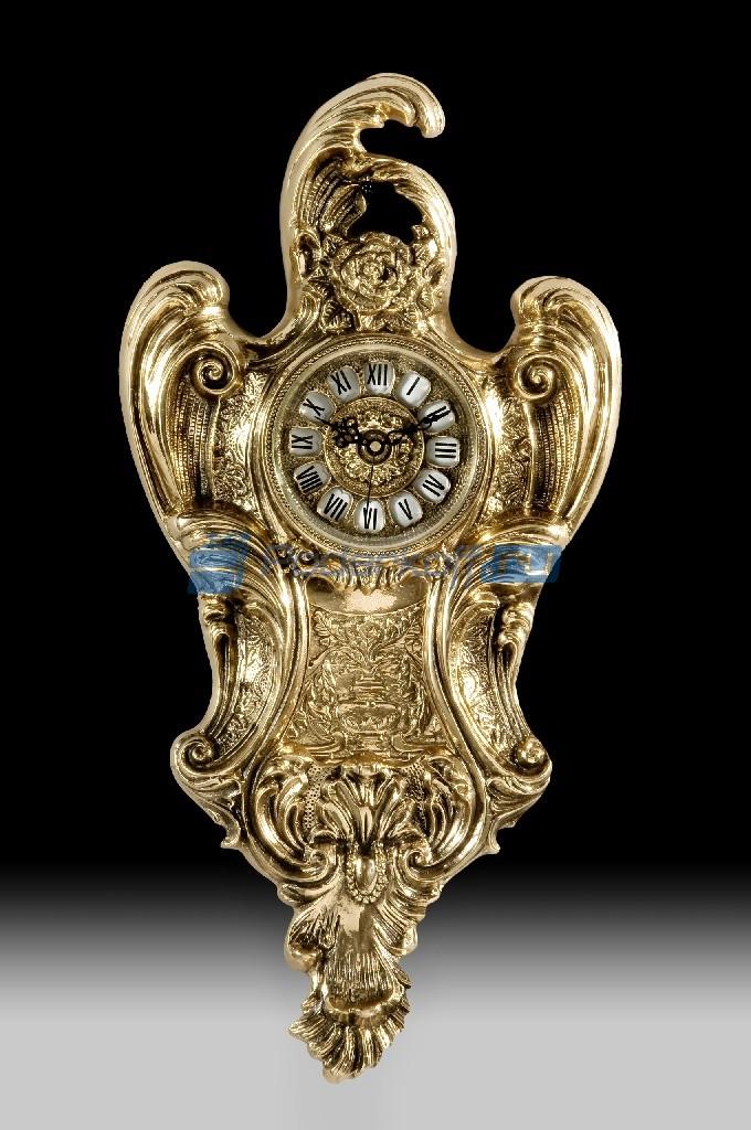 Часы из бронзы настенные Коста дэль Соль