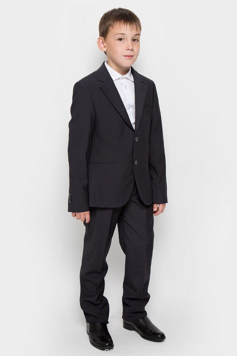 Классический темно-серый костюм для мальчика Orby