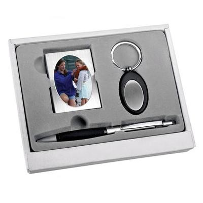Набор: ручка, брелок, рамка для фотографии