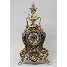 Часы из бронзы Золотая рыбка, золотые