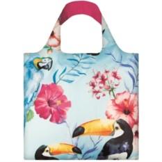 Складная сумка LOQI Fashion Wild Birds