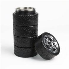 Кружка-термос в виде комплекта покрышек 5 Шин