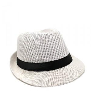 Шляпа Straw, белая