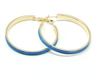 Голубые серьги Кольца