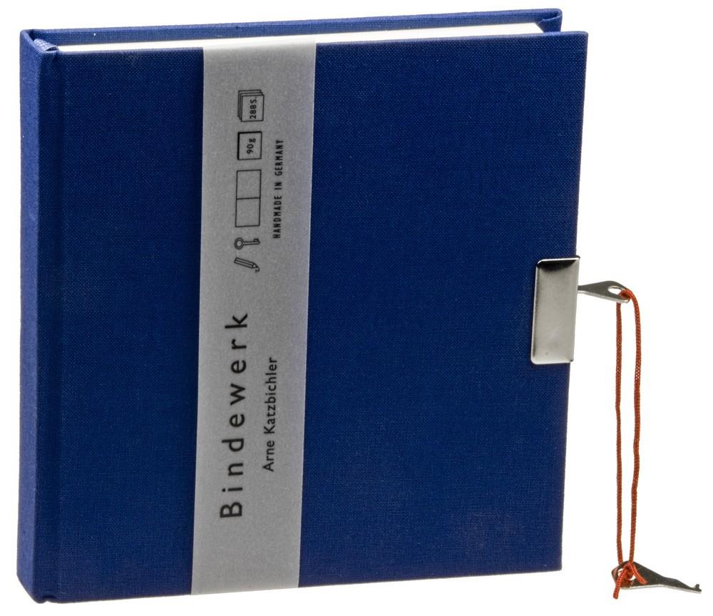 Книга для записей Linen, синяя