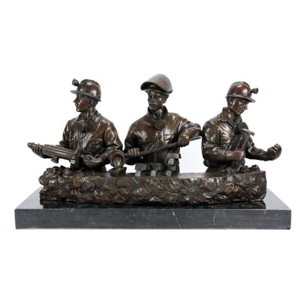 Бронзовая статуэтка Металлурги