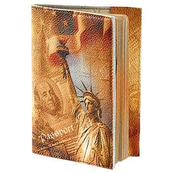Обложка для паспорта, статуя Свободы