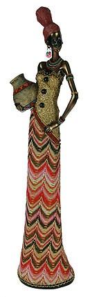Статуэтка Молодая африканка