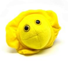 Плюшевая игрушка-микроб Герпес