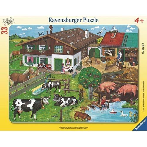 Пазл Животные на ферме от Ravensburger