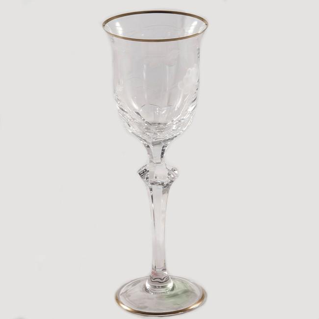 Набор из 6 бокалов для вина Arnstadt Crystal Монроуз (прозрачный)