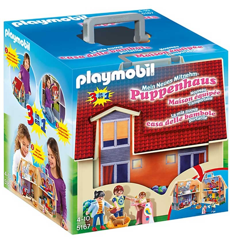 Конструктор Playmobil Возьми с собой Кукольный дом