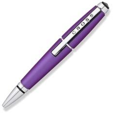 Фиолетовая ручка-роллер Cross Edge без колпачка